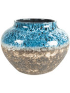 Bloempot Jar Lindy Sky Blue
